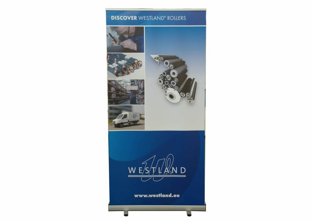 Roll-Up Banner für Indutriekunde