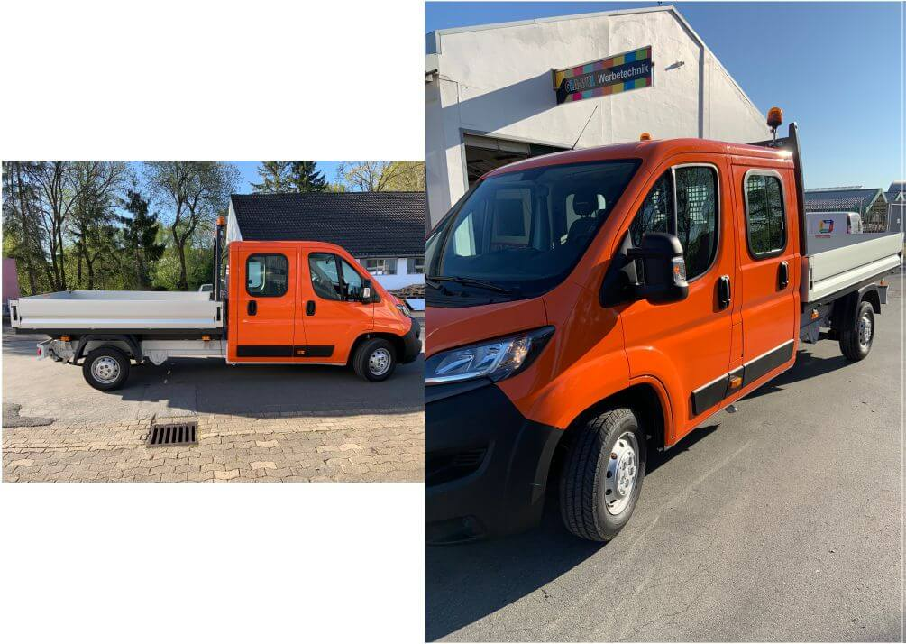 fiat ducato pritsche car wrapping
